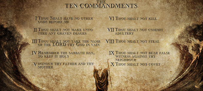 Adam Broke All Ten Commandments