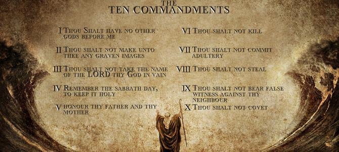 Adam Broke All Ten Commandments