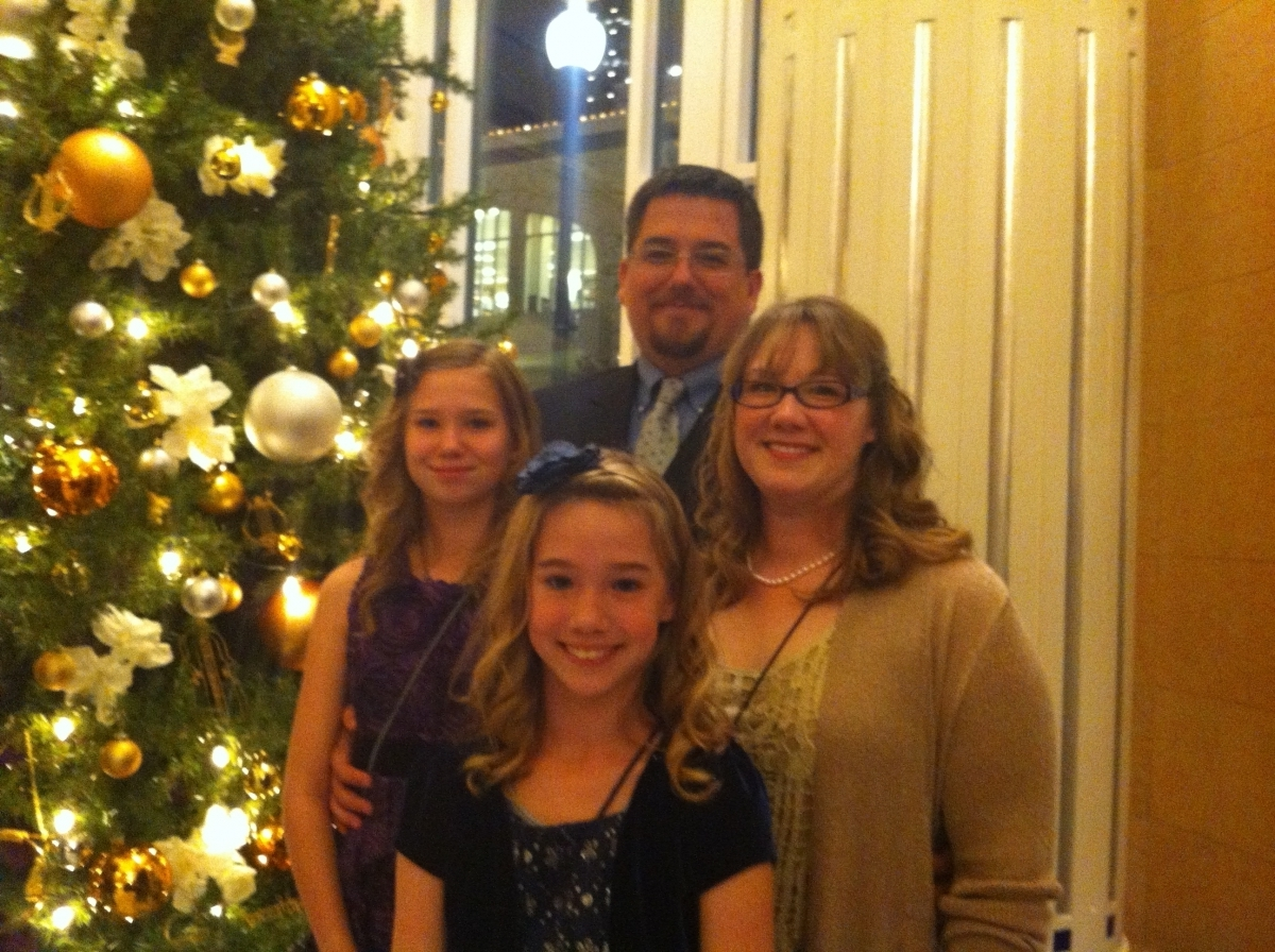 Handel's Messiah with my Family