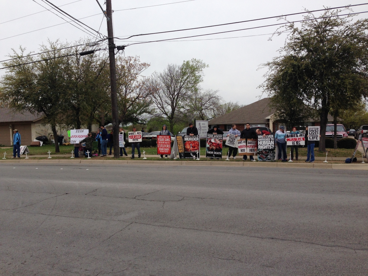 Abortion Clinic Ministry in Ft. Worth